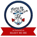 featured on marry me ink wedding blog