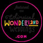 Whimsical Wonderland Weddings Badge