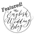 English Wedding Blog Featured Badge