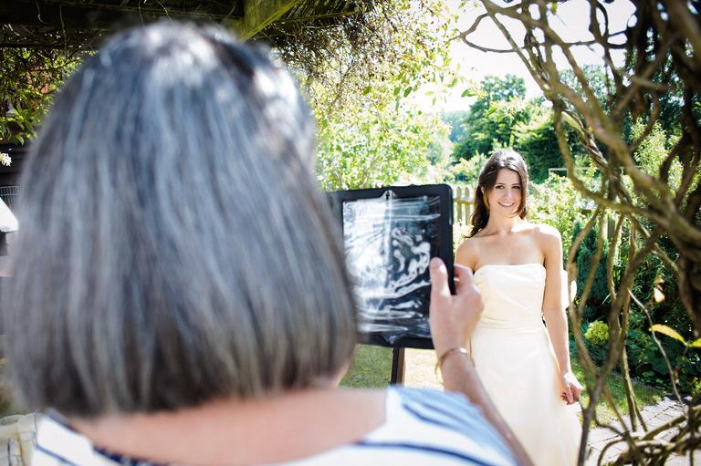wedding photography ipad