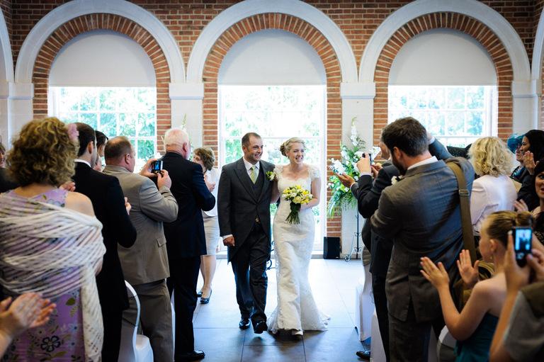 great fosters orangery wedding venue