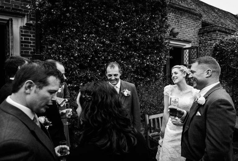 natural fun wedding photography