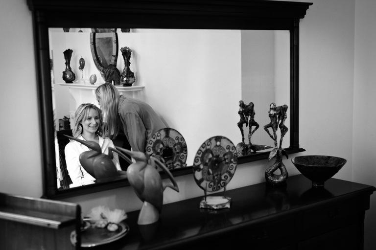 bride make up mirror