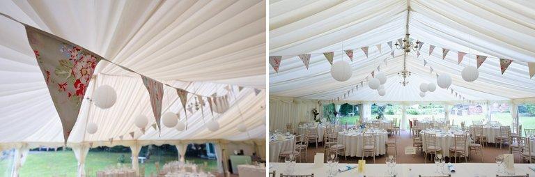 derbyshire marquee wedding