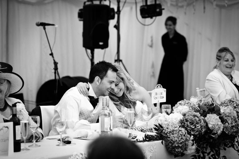 tender moment wedding