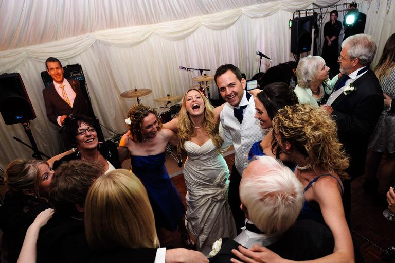 derbyshire marquee garden wedding