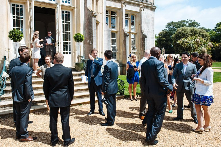 wedding guests highcliffe castle