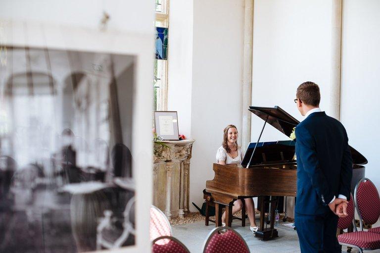 wedding pianist highcliffe castle