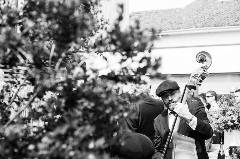 wedding band dorset jazz bass