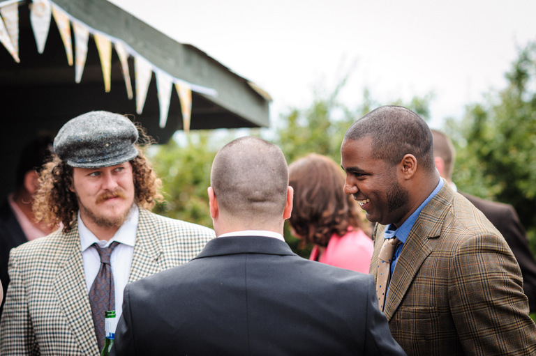 flat cap farm wedding