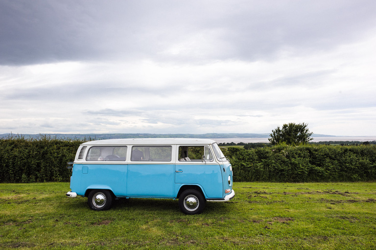 camper van wedding wirral