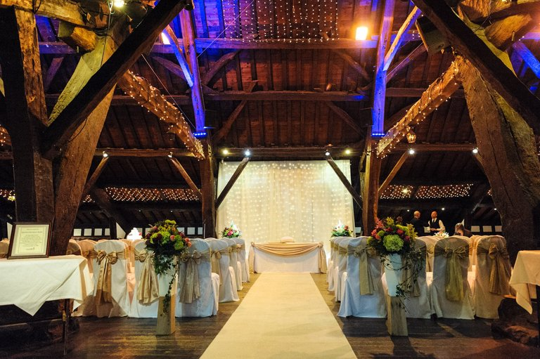 rivington barn wedding venue