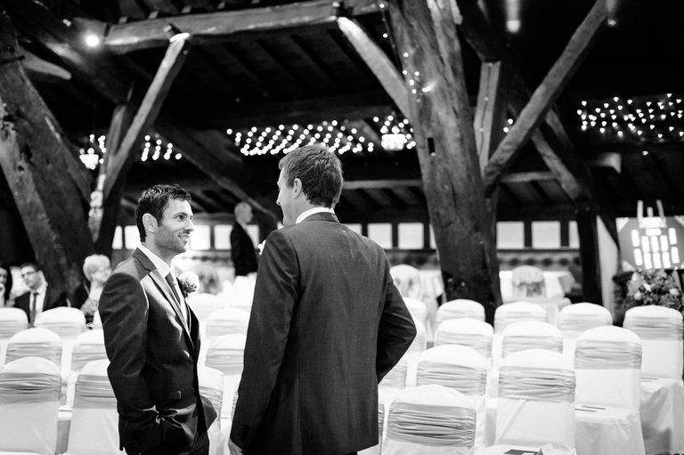 rivington barn waiting groom