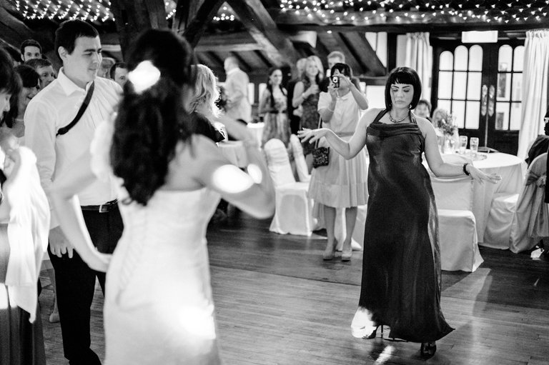wedding party pulp fiction dancing