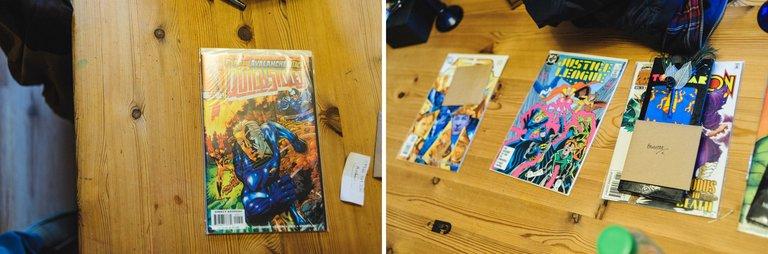 comic book wedding gifts
