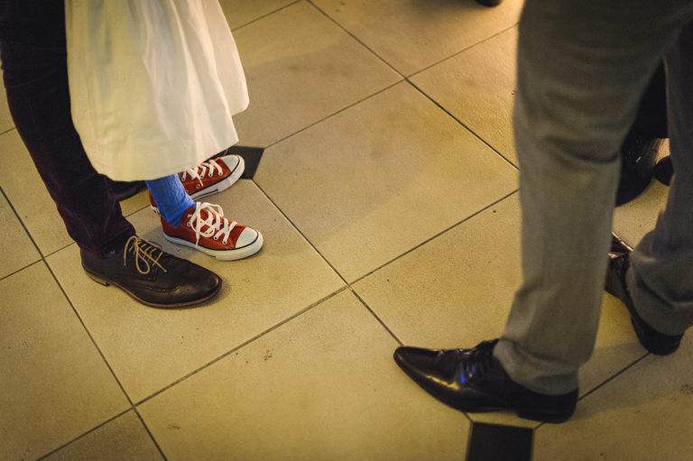 wedding brogues and converse