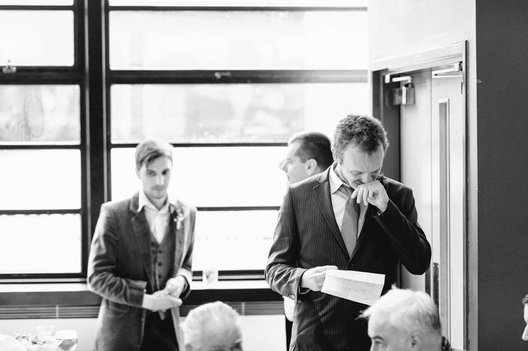 emotional best man's speech crying tears groom