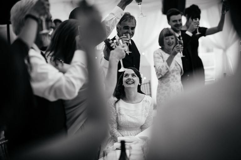 wedding speeches toast the bride