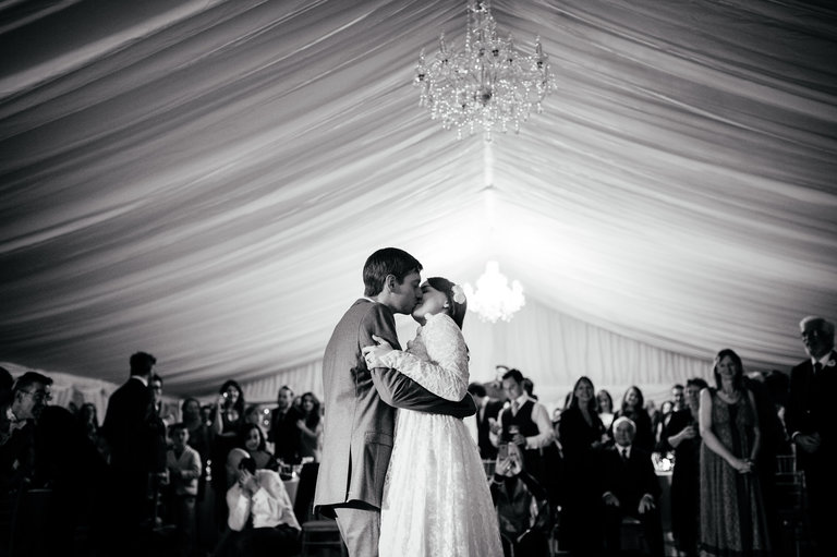emotional wedding photography first dance