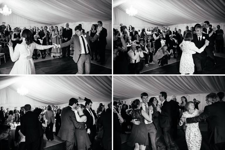 lively wedding dancing