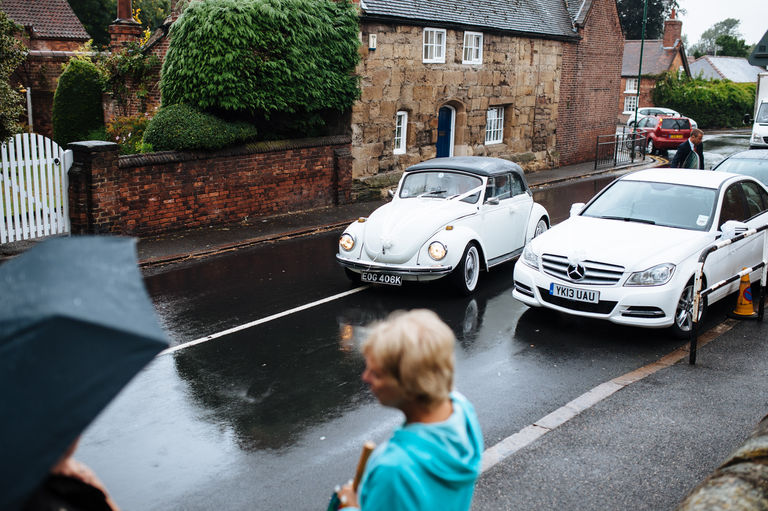 volkswagen beetle wedding car