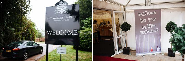 Beeston Walled Garden Wedding