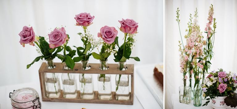 wild flowers wedding decorations