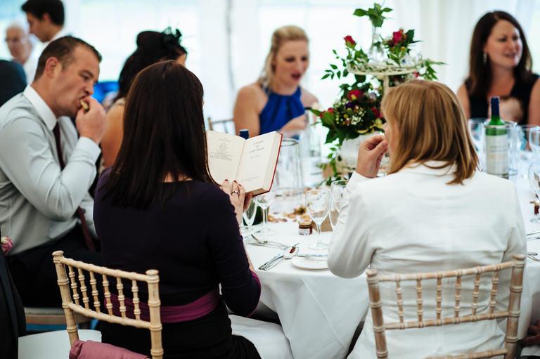 Beeston Walled Garden Wedding table details
