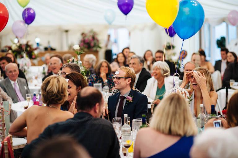 Beeston Walled Garden Wedding guests