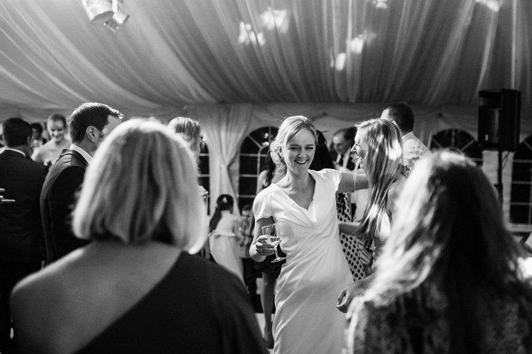 Beeston Walled Garden Wedding dancing