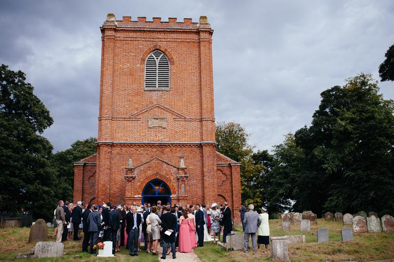 norman church wedding photography