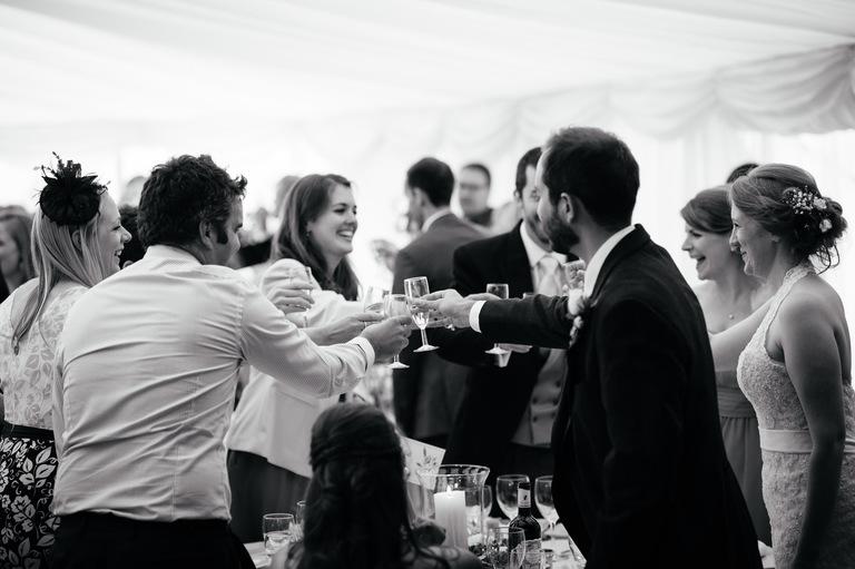 wedding table toasts