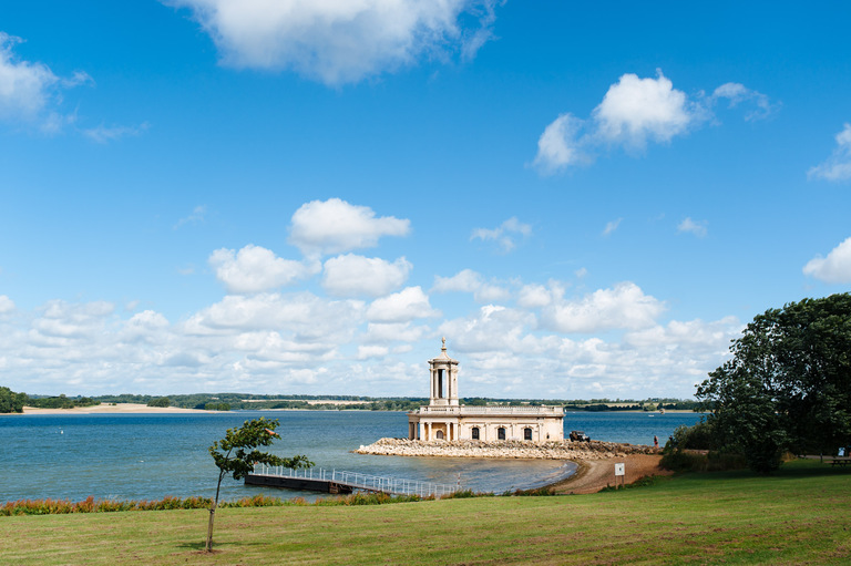 normanton church wedding rutland water