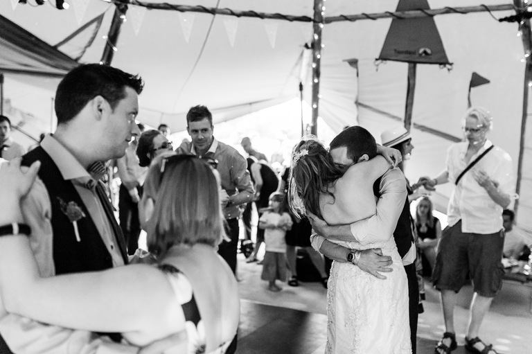 tipi wedding first dance