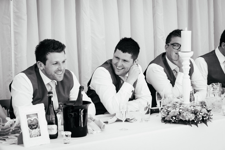 best men laughing