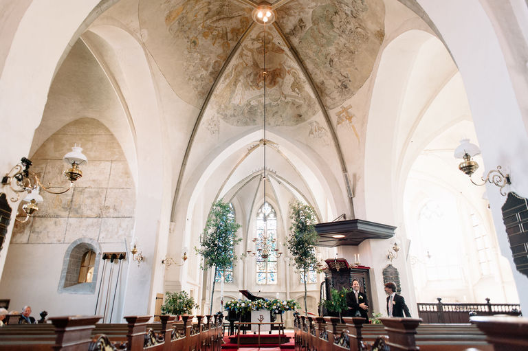 interior oude blasius church delden