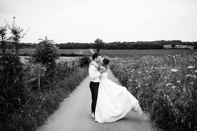 swancar wedding venue couple dancing