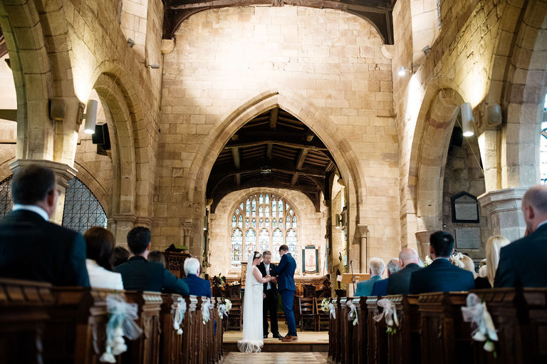 st alkmunds church wedding duffield