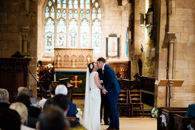 st alkmunds church duffield first kiss