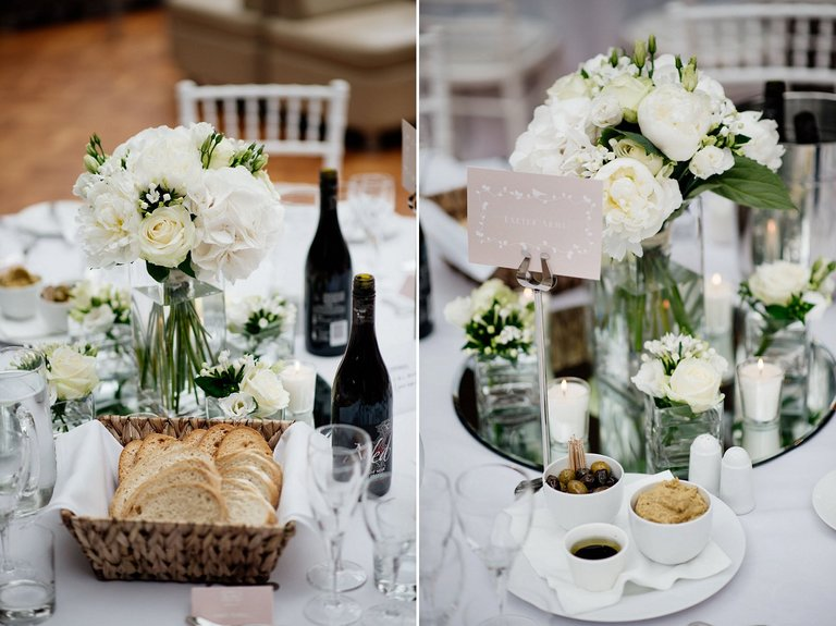 thornbridge hall wedding tables