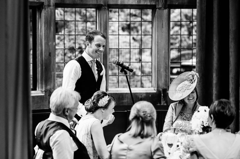 grooms speech thornbridge hall