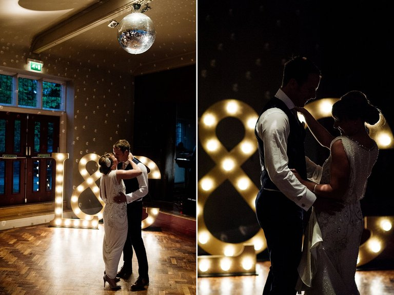 first dance thornbridge hall