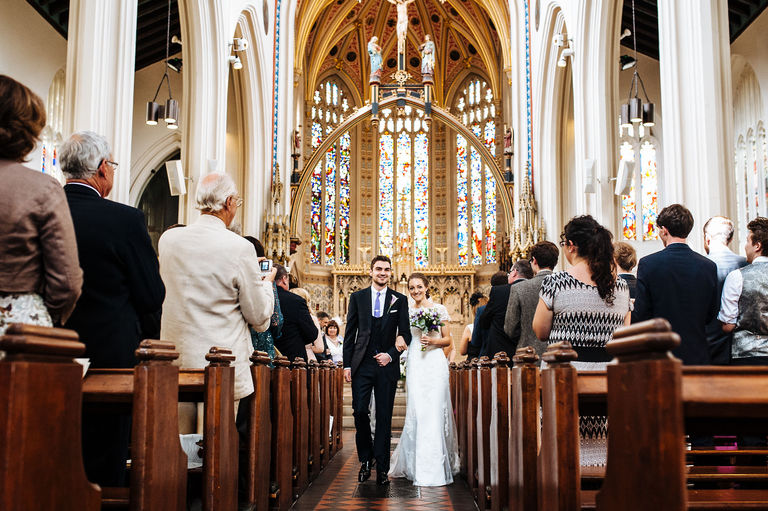 Saint Mary's Church Derby Wedding Photography