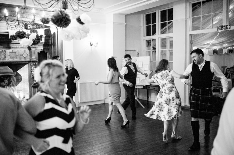 Wedding reception Ceilidh