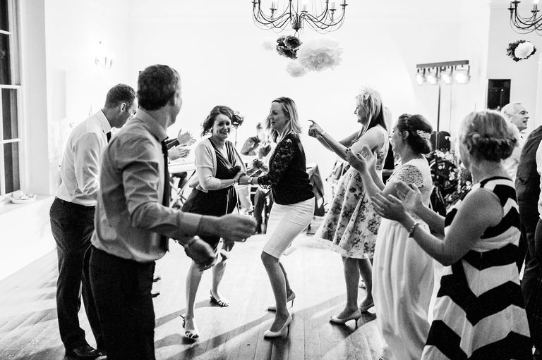 Ceilidh at a wedding