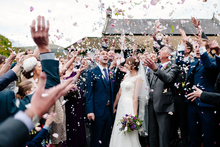 Fun filled confetti photograph