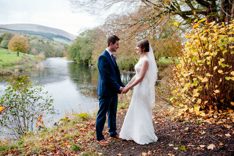 The Inn at Whitewell Wedding Portraits