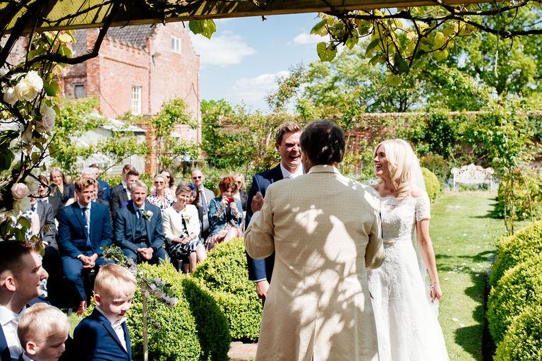 Elms Barn Outdoor Wedding