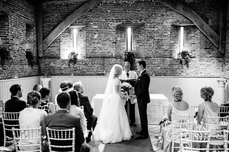 Elms Barn Indoor Wedding