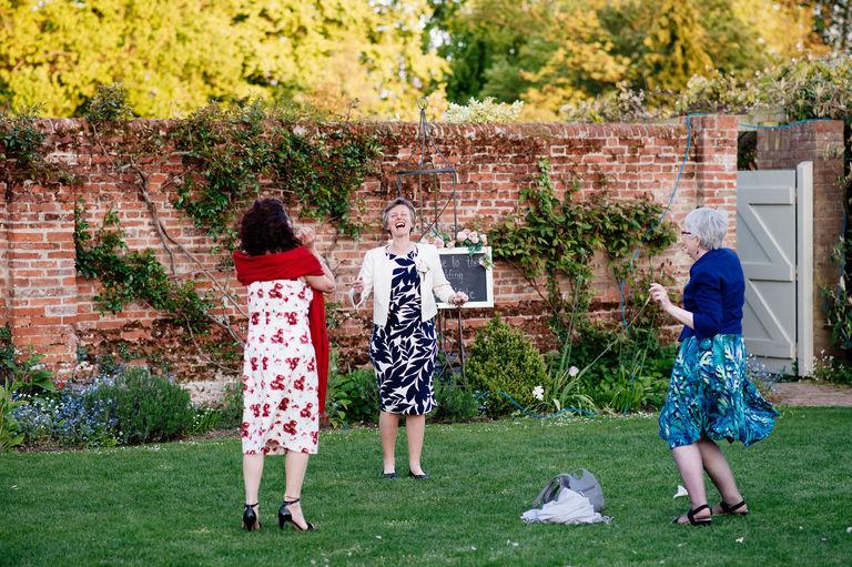 Mums dancing at a wedding